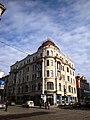 Spring 2009 in Riga. Houses in Kr.Barona str. - panoramio - Ainars Brūvelis.jpg