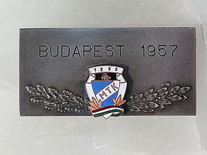 MTK Budapest FC - Spring Cup 1957