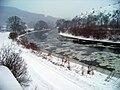 Srbsko, Berounka, plující ledy.jpg
