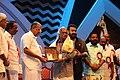 Sreekumaran Thampi receiving the J. C. Daniel Award 2017 02.jpg