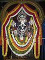 Sri Lakshmi Narasimha Swamy at SRI HARI VAIKUNTA KSHETRA Bangalore Karnataka.jpg