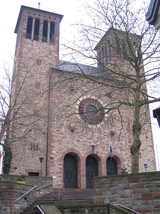 Bensheim - Saint George's church