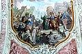 St.Peter und Paul in Söll - Deckenfresko Peter und Paul 1b Paulus vor dem Hohen Rat.jpg