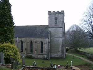 Oakridge, Gloucestershire - Image: St. Bartholomew's Church