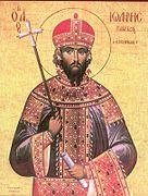 Ο Ιωάννης Δούκας Βατάτζης ως Άγιος.