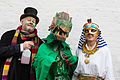 St Albans Mummers production of St George and the Dragon, Boxing Day 2015-4.jpg
