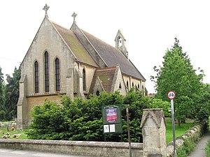 Edward Barnwell - St Andrews Church on Church Lane - Church financed by the Rev E L Barnwell