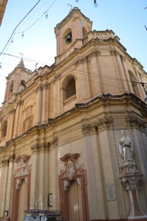 St Augustine Church, Valletta - Image: St Augustine Church (Malta)