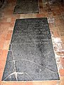 St Margaret's church - C18 ledger slab - geograph.org.uk - 1549896.jpg