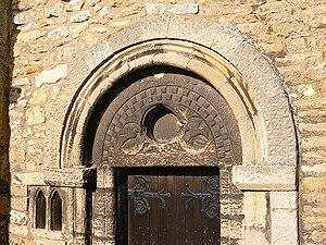 Medardus - Image: St Medard's Tympanum