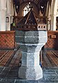 St Michael and All Angels, Stokenham, Devon - Font - geograph.org.uk - 1738199.jpg