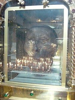 St. Oliver Plunkett's head