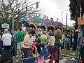 St Pats Parade Day Metairie 2012 Parade F6.JPG