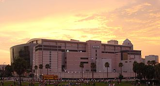 2012 Republican National Convention - The Tampa Bay Times Forum was the site of the 2012 Republican National Convention