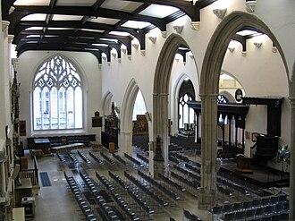 St Helen's Church, Bishopsgate - Interior of St Helen's Bishopsgate