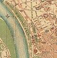 Stadtplan von Düsseldorf Ausschnitt Kaiser-Wilhelm-Park, Golzheimer Friedhof, 1909.jpg