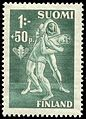 Stamp of wrestler Oskar Friman 1945.jpg