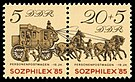 Stamps of Germany (DDR) 1985, MiNr Zusammendruck 2965, 2966.jpg