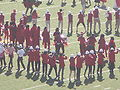 Stanford Band performing pregame at 2008 Big Game 02.JPG