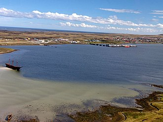 Transport in the Falkland Islands - Stanley Harbour