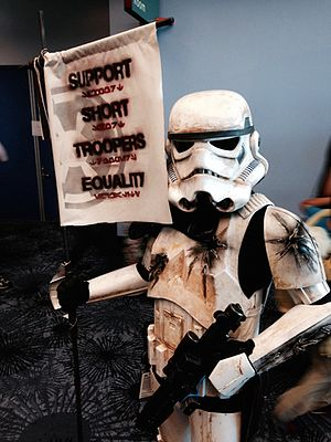 Star Wars Celebration - Star Wars Celebration 2015 - Short Stormtrooper