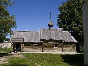 Volkhovsky District - Church of Saint Dimitry of Thessaloniki, Staraya Ladoga