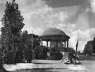 Kingaroy - Kingaroy Soldiers' Memorial Rotunda, 1950