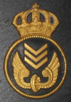 Swedish State Railways - Older badge of Statens järnvägar