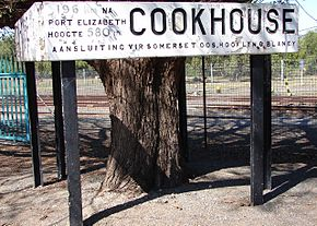 Cookhouse station name board