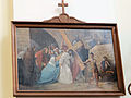 Station of the Cross in Saint Francis church in Warsaw - 04.jpg
