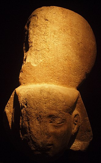 Shabaka - Image: Statue Head of Pharaoh Shabaka 25th Dynasty ÄS 4859