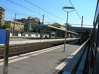 Rail transport in Vatican City - Image: Stazione Roma San Pietro