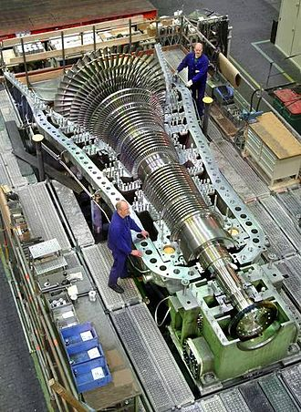 MAN SE - MAN steam turbine