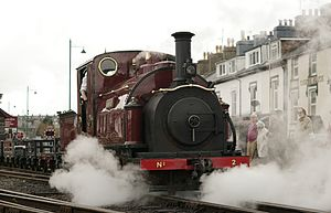 Ffestiniog Railway rolling stock - Image: Steam 150 (Saturday) Flickr Peter G Trimming (22)