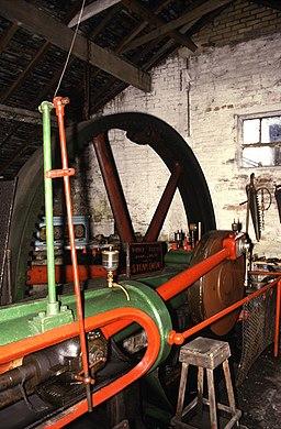 Steam engine, Cheddleton Flint Mill - geograph.org.uk - 656247