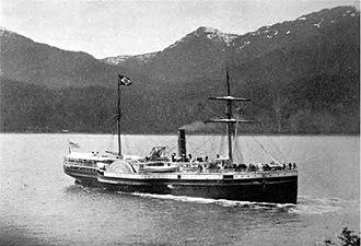I Love You, California - Image: Steamship Ancon