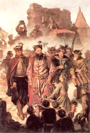 Siege of Kraków - Image: Stefan Czarniecki defending Kraków 1655