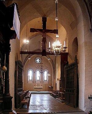 Stenkil - Windows created by Stenkil's dynasty in Vreta Abbey.