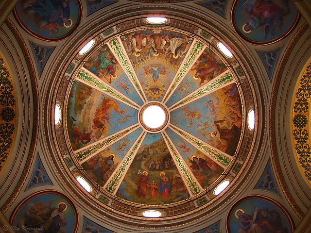 Dome of the Stella Maris Monastery, Haifa