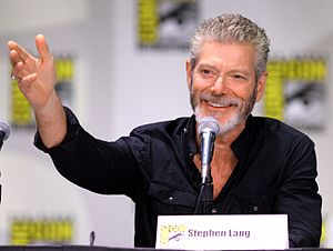Stephen Lang - Lang at the 2013 San Diego Comic-Con International in San Diego, California, promoting Terra Nova.