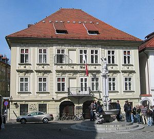 Stična Mansion - Stična Mansion at Old Square in Ljubljana
