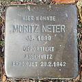 Stolperstein Bad Bentheim Dorfstraße 21 Moritz Neter.JPG