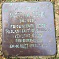 Stolperstein Beckedorf Kirchweg 1 Martha Cohn.jpg