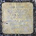 Stolperstein Dahlmannstr 15 (Charl) Rosi Drucker.jpg