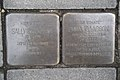 Stolperstein Duisburg 400 Ruhrort Landwehrstraße 16 2 Stolpersteine.jpg