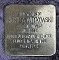 Stolperstein Jagowstr 44 (Moabi) Hertha Witkowski.jpg