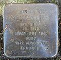 Stolperstein Karlsruhe Blanka Hess Jollystr 49 (fcm).jpg