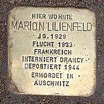 Stolperstein Kybitzstr 6 Marion Lilienfeld