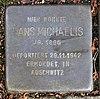 Stolperstein Markgrafenstr 64 (Frohn) Hans Michaelis.jpg