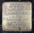 Stolperstein Otto-Braun-Str 76 (Mitte) Isaak Lindenberger.jpg